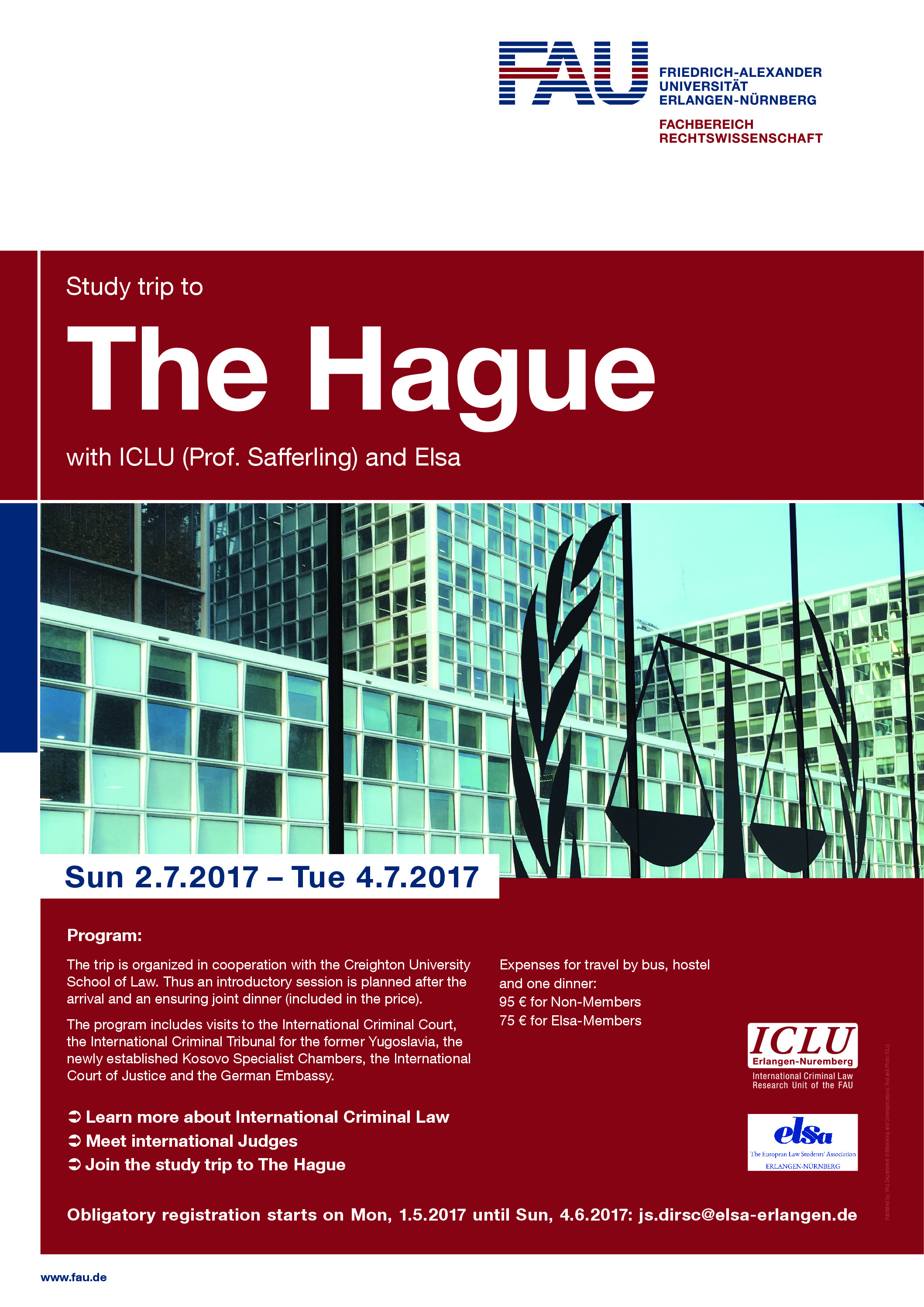 "Zum Artikel ""Study Trip to The Hague"""