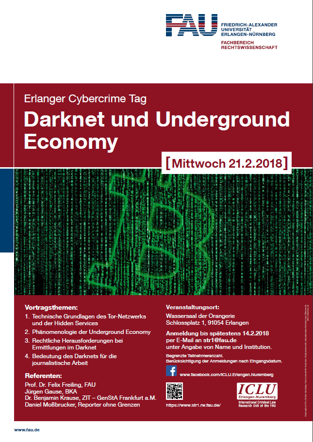 "Zum Artikel ""SAVE-THE-DATE: Erlanger Cybercrime Tag 2018"""