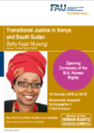 "Zum Artikel ""Transitional Justice in Kenya and South Sudan"""